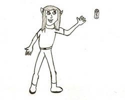 coke person by x9000