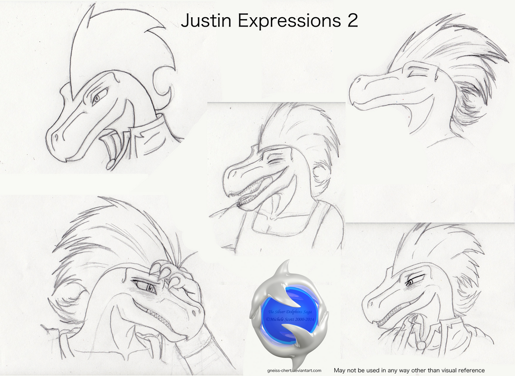 Justin's Expressions Sketch 2 by Gneiss-chert