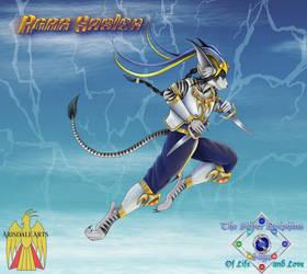 Elemental of Lightning: Agar by Gneiss-chert