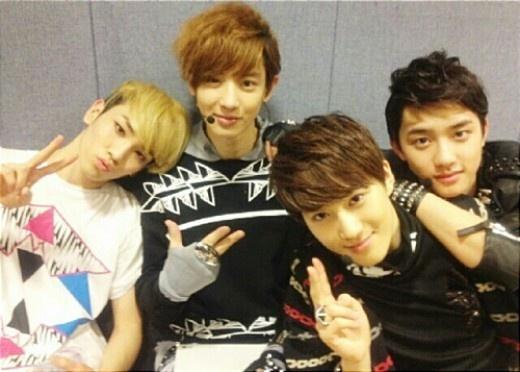 Key: With EXO Friends by waterbirdART