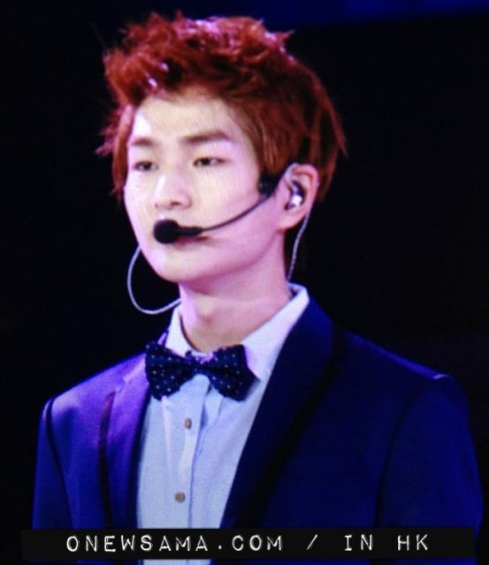 Onew: 121027 SWC in HK by waterbirdART