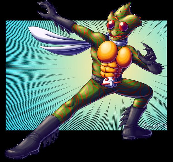 Kamen Rider Amazon by SunnieF