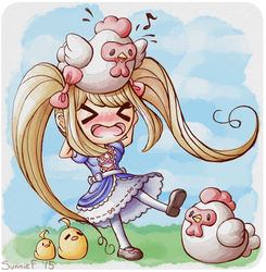 Catherine (Harvest Moon: The Lost Valley) by SunnieF