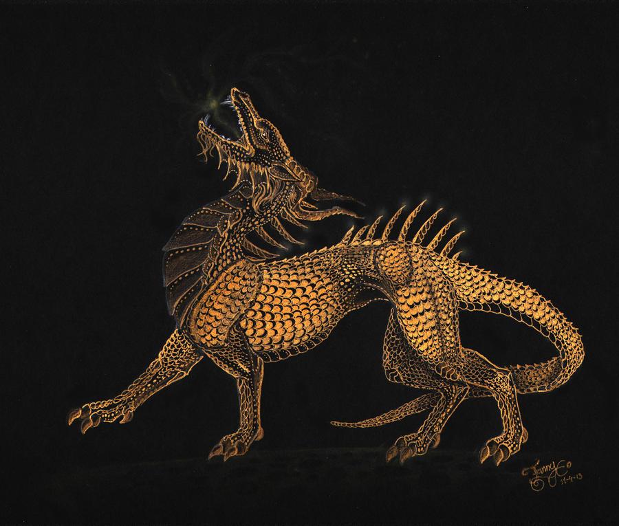 Gold by LarimarDragon