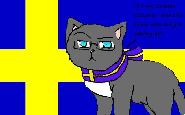 Sweden Cat by IvanBrussia on DeviantArt