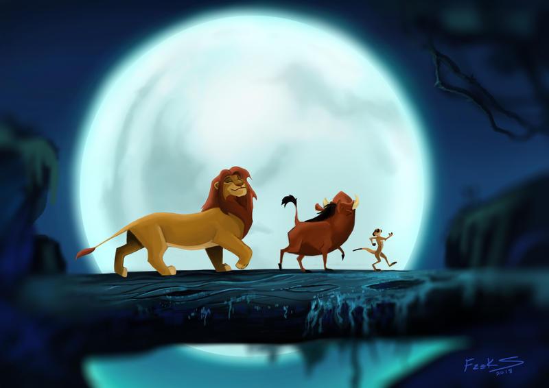 The Lion King - FanArt by Freksama