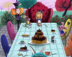 Alice in Wonderland - Tea Party