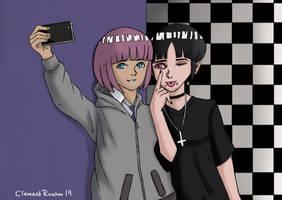 OCs Yuki and Iyame