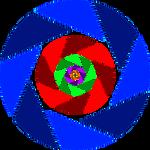 Aperture Science Logo: Swirl