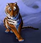 Swirly Tiger