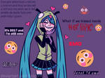 Miku found out what Myspace is