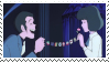 Lupin + Clarisse - stamp by CloudyPowder