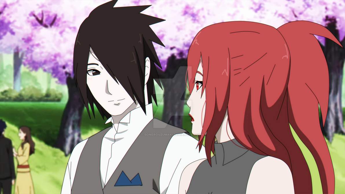 EDIT: Sasuke and Sonero at Naruto's wedding by ...
