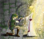 Zelda and her Chosen Hero
