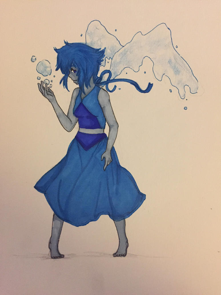I've recently watched Steven Universe and I'm totally in love with their characters. They are incredible and I think, Lapis a really interesting character with a lot of little details that make her...