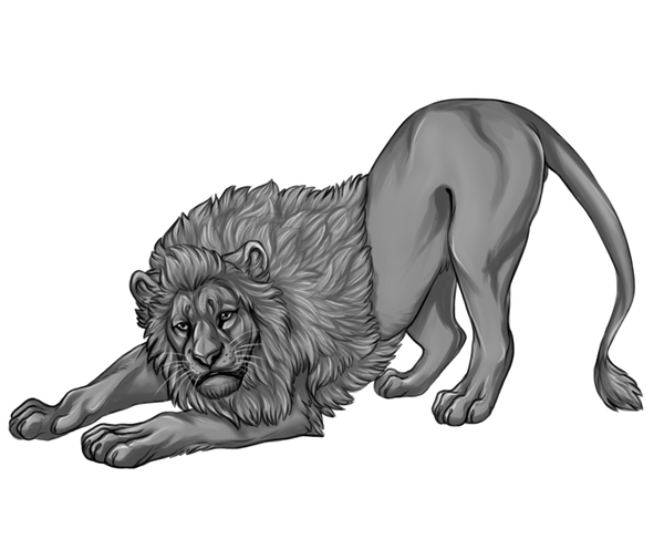 Line Art Free : Free lion lineart by reviro on deviantart