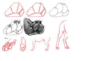 Short Paw Tutorial by reviro