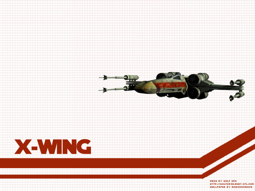 x wing wallpaper by aideon on deviantart