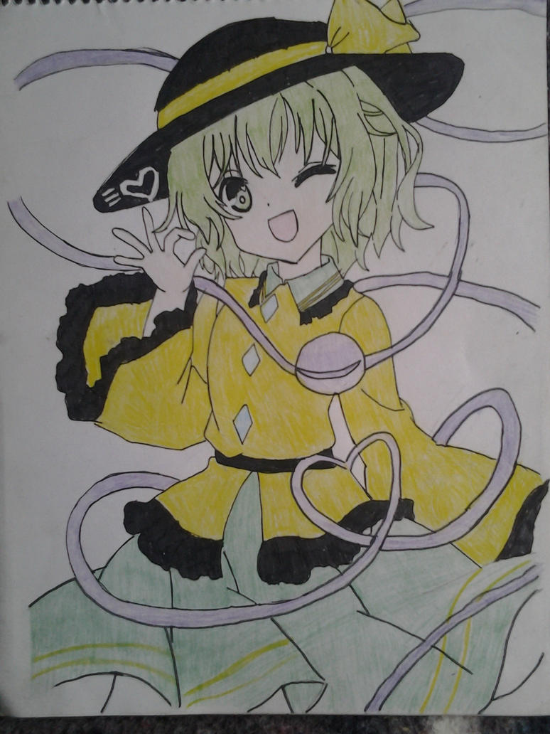 touhou koishi komeiji by Dark-Dragon-Knight1