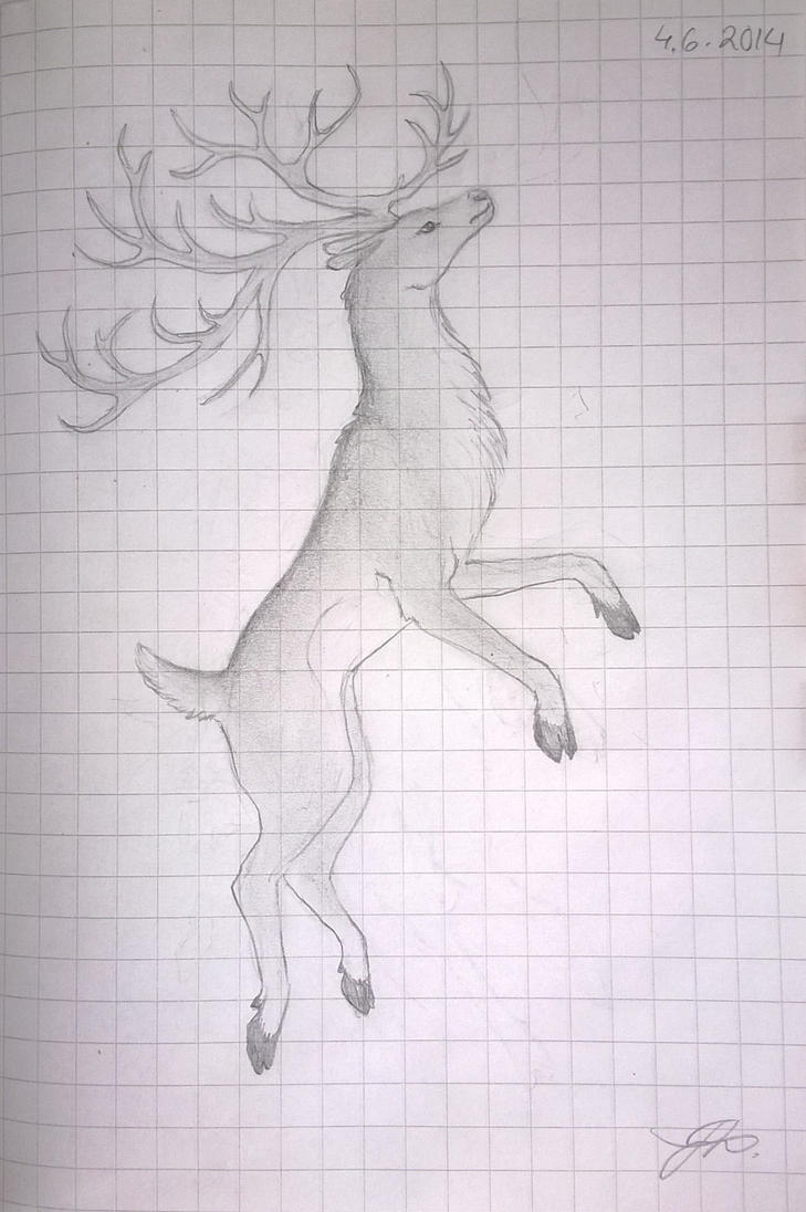 Some deer by Phonexia