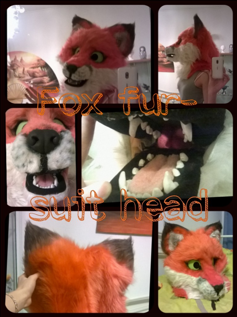 Fox fursuit: Head by Phonexia