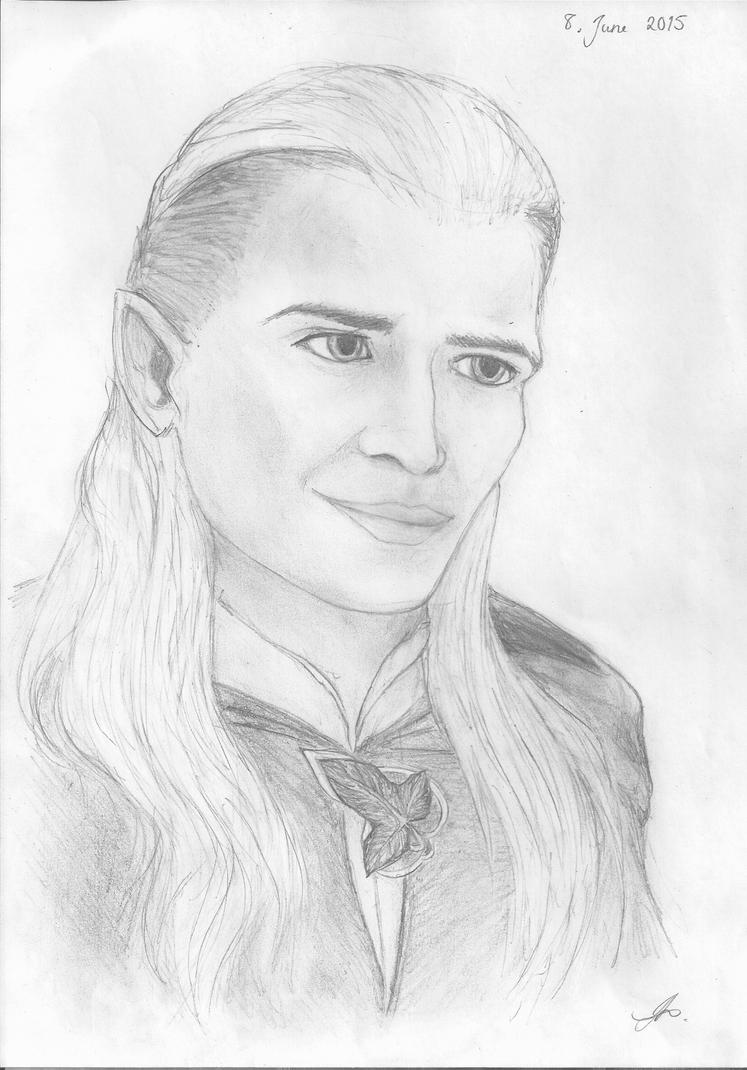 Legolas Greenleaf by Phonexia