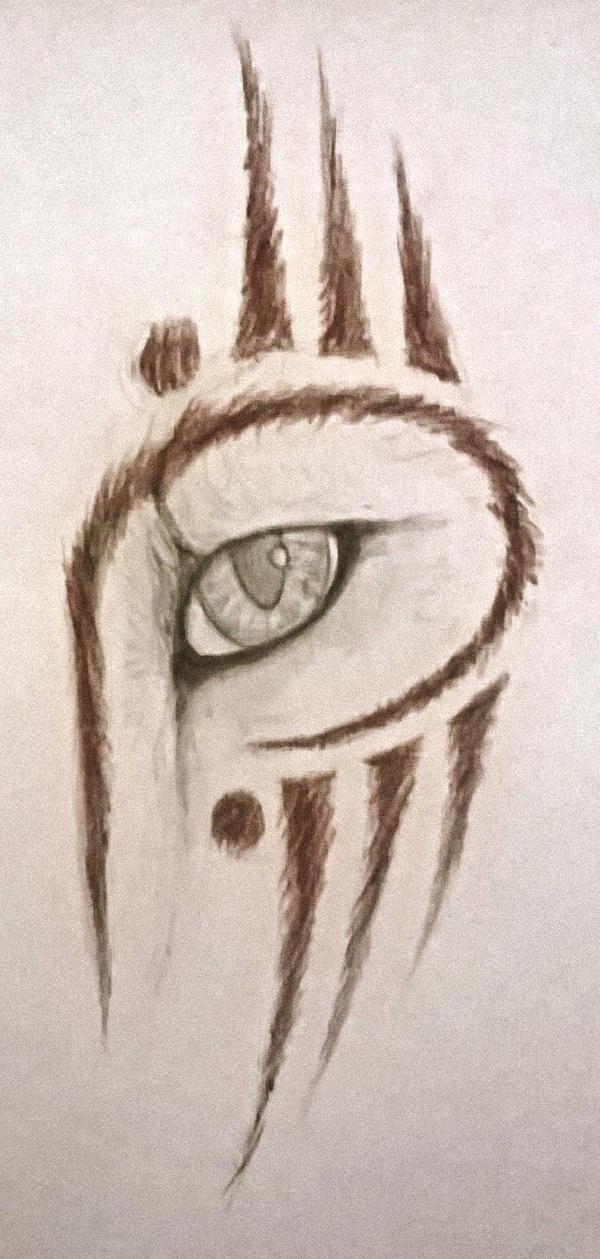 Jadita's blind eye by Phonexia