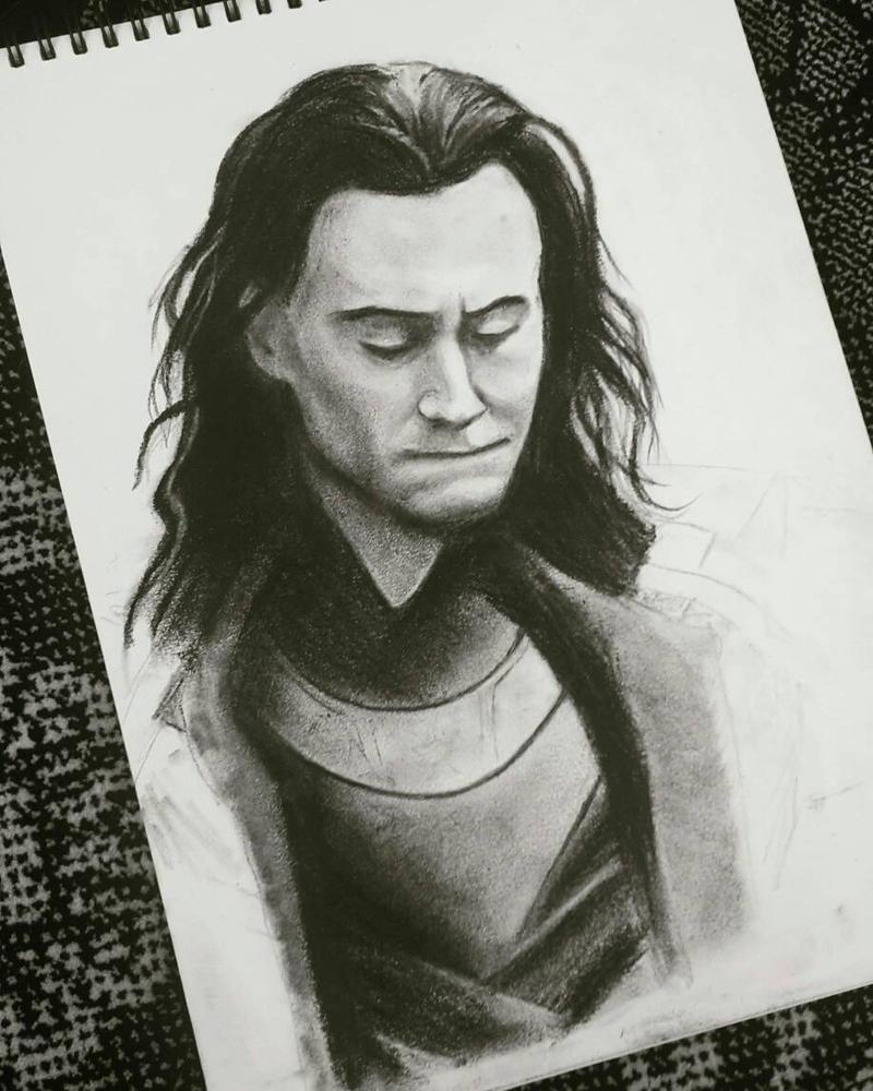 Loki - unfinished by Phonexia