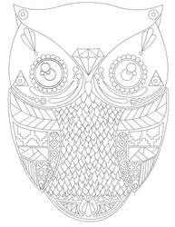 Aztec Owl by duckyrun2