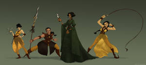 Sand Snakes Game of thrones