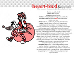 Heart-Bird and her Info
