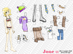 Jone Paper Doll - Regular
