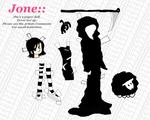 Jone Paper Dolls - Death kit