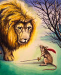 Aslan and Reepicheep