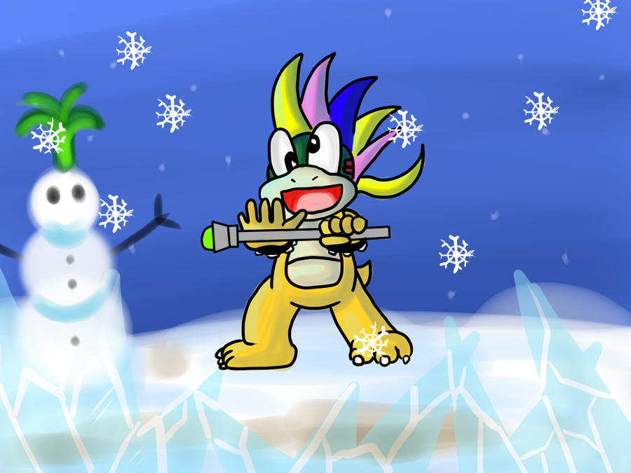 Lemmy Koopa's Winter craze