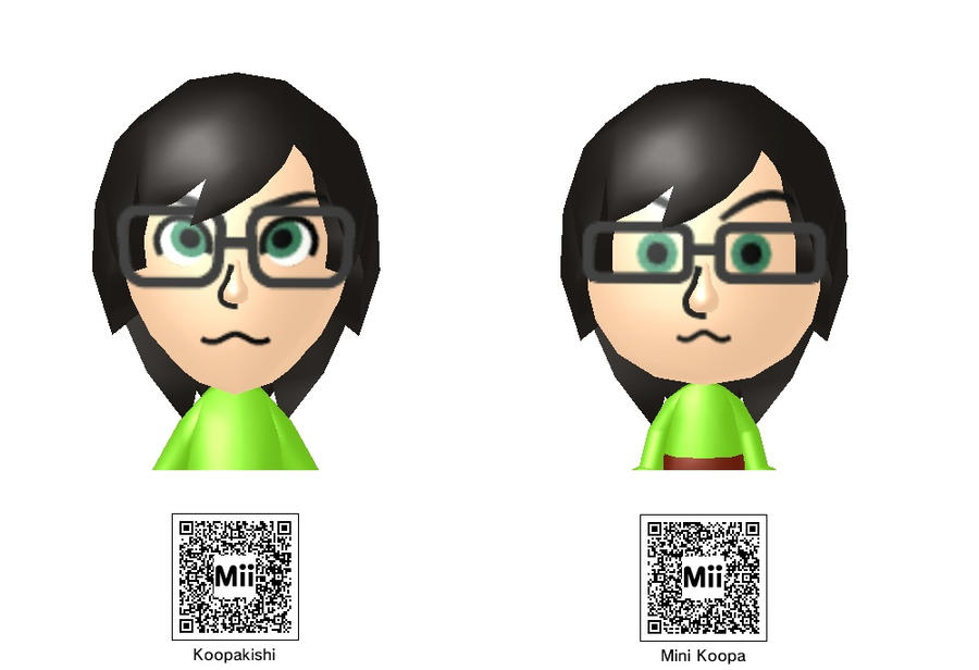 Anime Mii Characters 3ds : My ds mii s by lucario sensei on deviantart