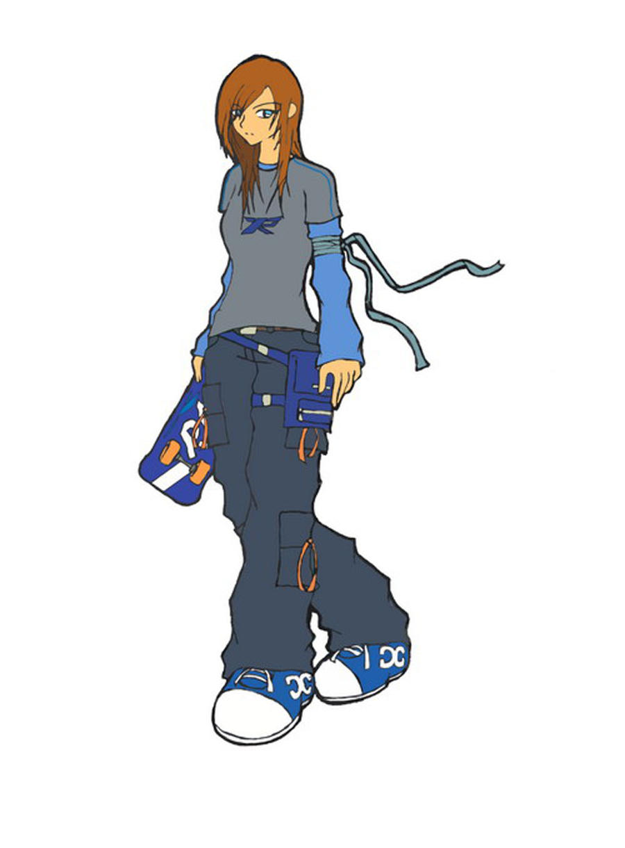 Skater Girl2 by MynameisBlaze
