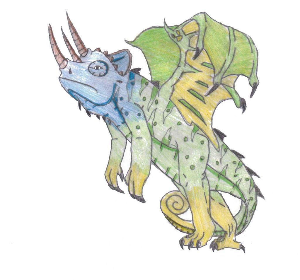 Nereo Guardian- Chamel The Chameleon Dragon By
