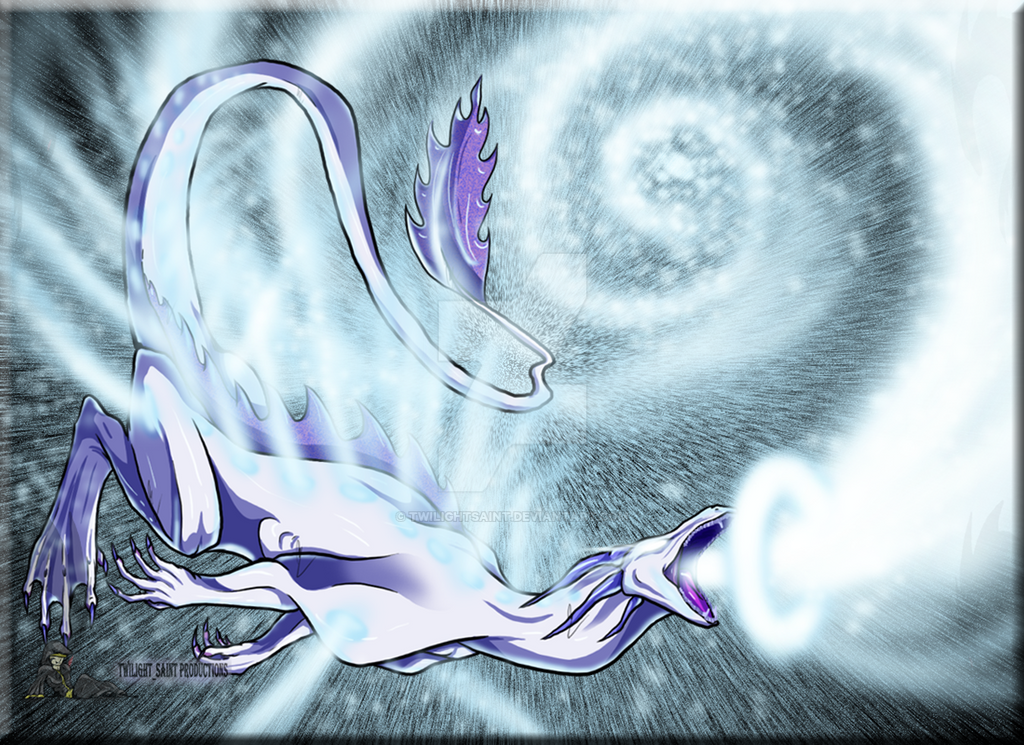 the white hole dragon by twilightsaint on deviantart