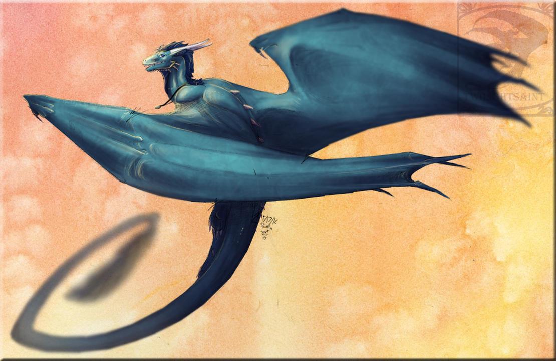 Req - Sky Blue Wings by TwilightSaint