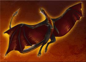 Comish - Crimson Winged by TwilightSaint