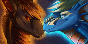 Icon Comish - Fire and Ice