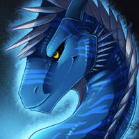 Icon Comish - Glowing Fury by TwilightSaint