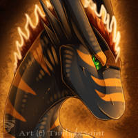 Icon Comish - This Girl is on Fire by TwilightSaint