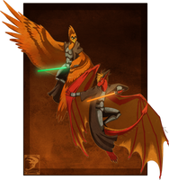 Comish - Winged Knights of the Old Republic by TwilightSaint