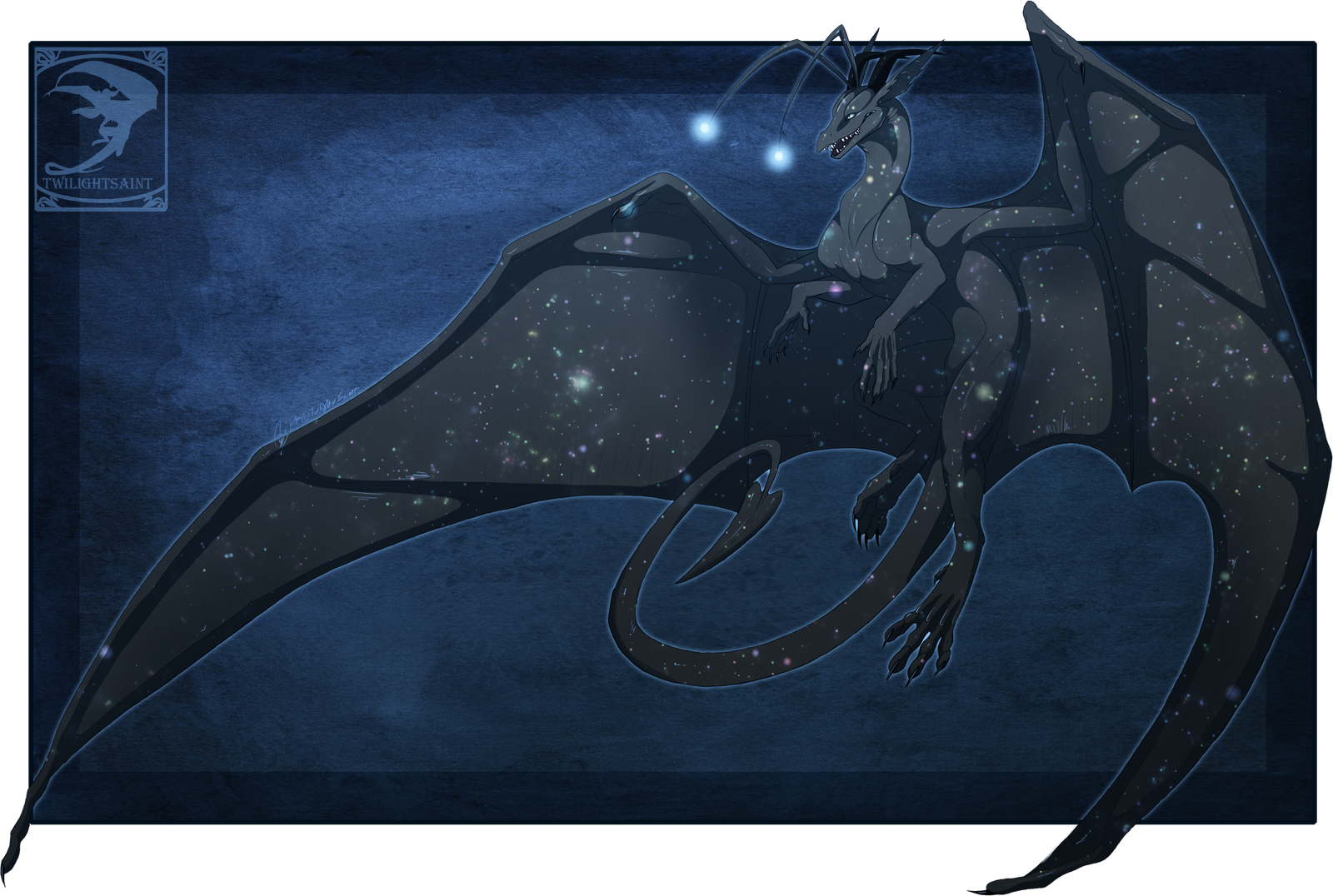 Comish - StarDrake by TwilightSaint