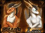 Badge Comish - Solaris and Lux