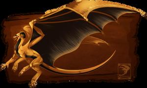 Comish - Golden Ferocity