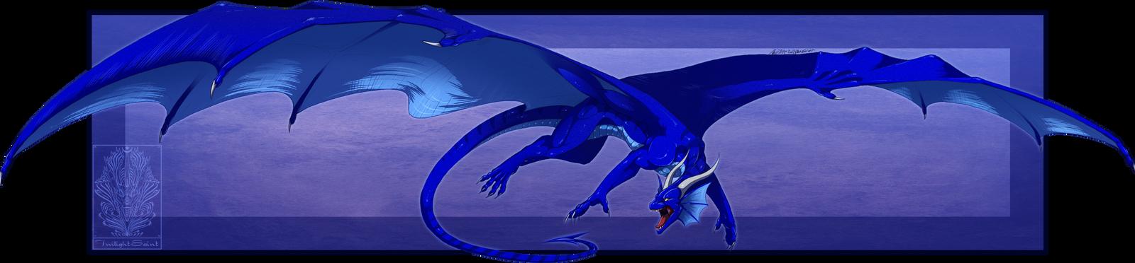Comish - Sapphire Rage by TwilightSaint