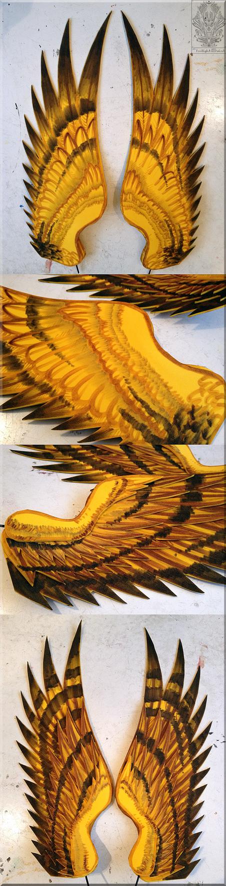 Eid Muzafr - Flared Wings by TwilightSaint